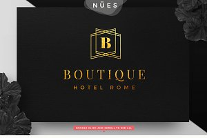 Luxury Boutique Logo Geometric
