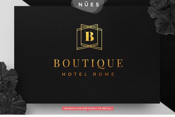 Luxury Boutique Logo Geometric