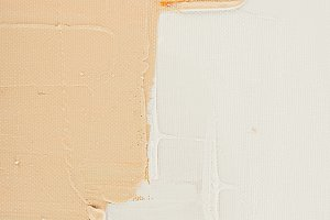 beige brush strokes on abstract oil