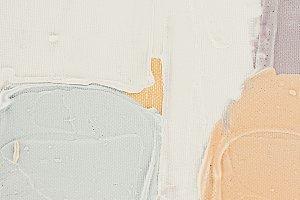 light brush strokes on abstract oil