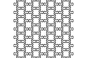 Seamless pattern in islamic style