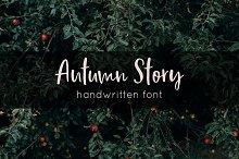 Autumn Story | Handwritten Font