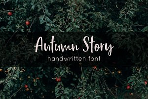 Autumn Story | Handwritten Font