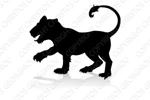 Tiger Animal Silhouette