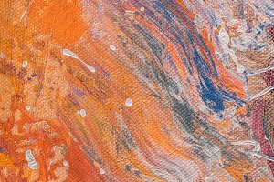 close up of multicolor texture with