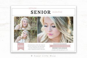 Senior Photography Marketing Flyer