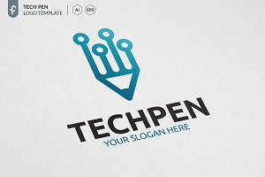 Tech Pen Logo