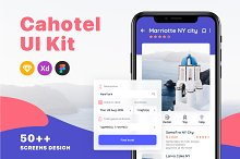 Cahotel - Booking Hotel UI Kit