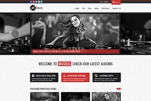 Rock Palace - a Responsive Music HTM