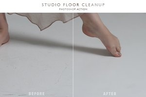 Studio Floor Cleanup - Ps Action