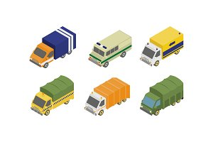 Special services trucks set