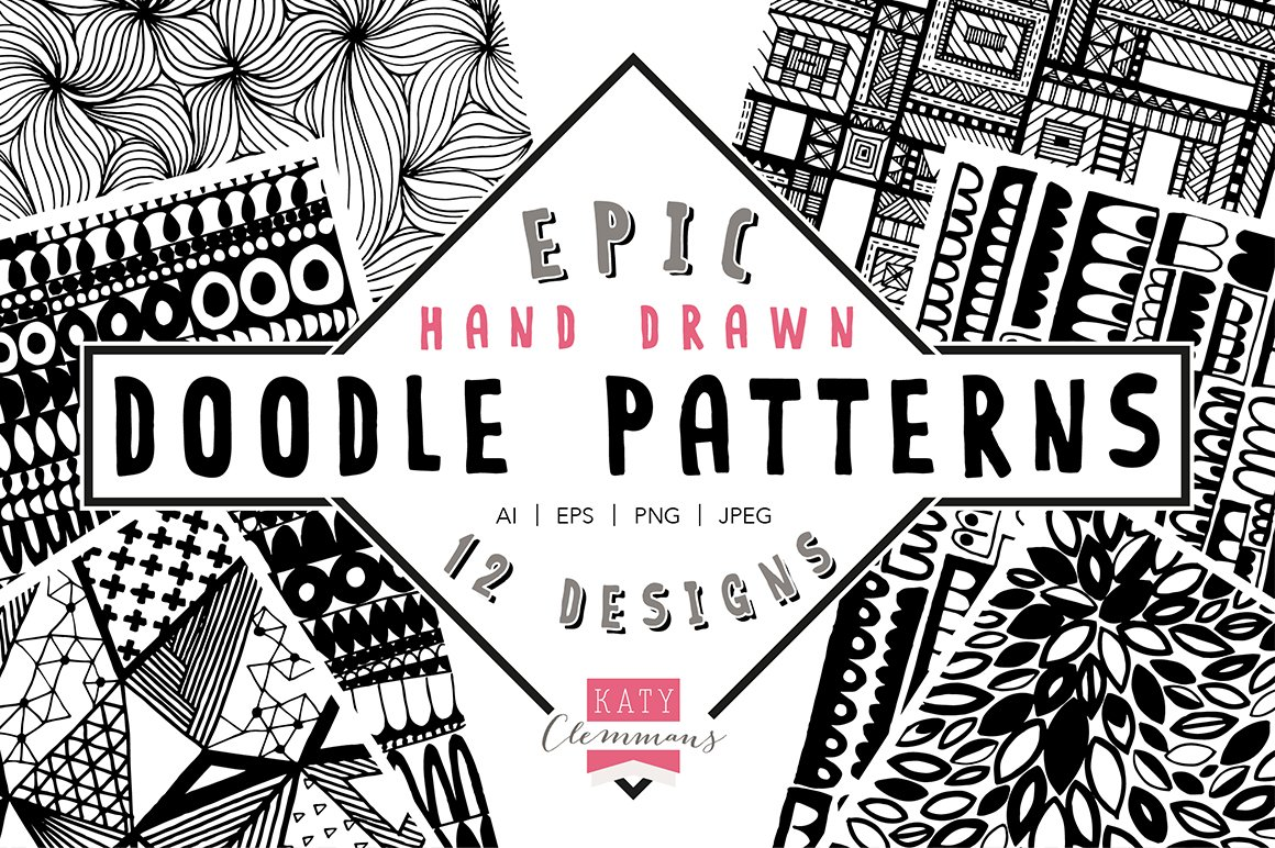 Pattern Doodle Unique Design