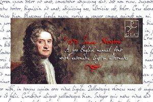 1672 Isaac Newton (Pro) OTF
