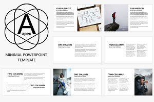 Apex Minimal PowerPoint Template