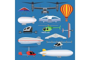 Aircraft vector drone jet and