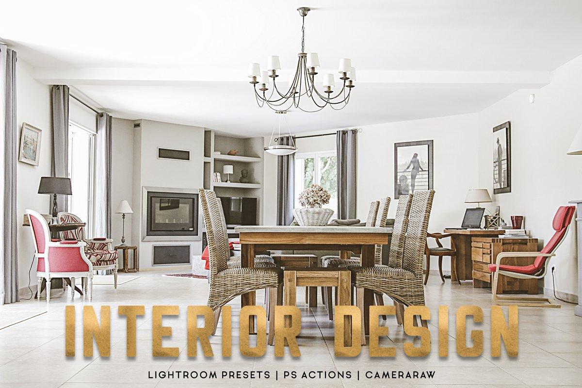 20 Interior Design Lightroom Presets ~ Photoshop Add-Ons