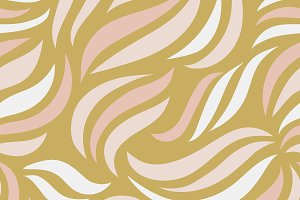 Simple pattern of wavy lines