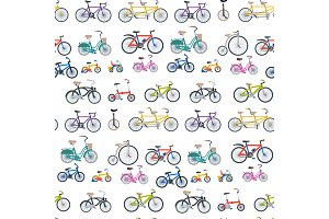Bike sport bicycles vector transport