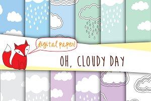 Clouds Digital Paper