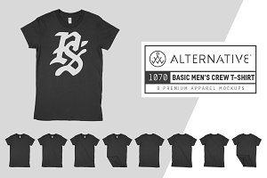 Alternative 1070 Men's T-Shirt Mocks