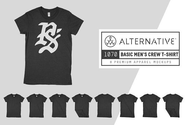 Alternative 1070 Men's T-Shirt Mock…