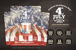 4th JULY USA Poster/Flyer Template