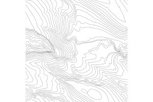 Topographic map background concept