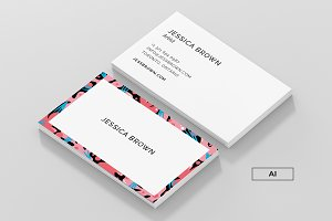 Jessica - Business Card Template
