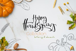 Happy thanksgiving collection