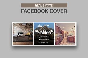 Real Estate Facebook Cover  SK
