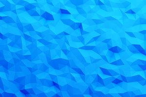 Blue triangle tiles flooring in digi