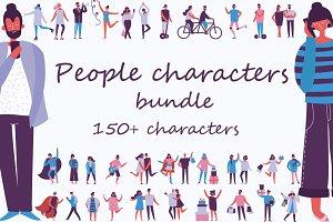 People characters bundle