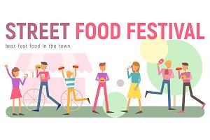 Street Food Festival Banner