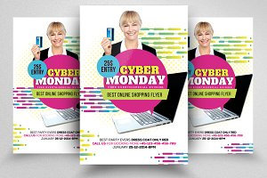 Cyber Monday Flyer Template Vol-02