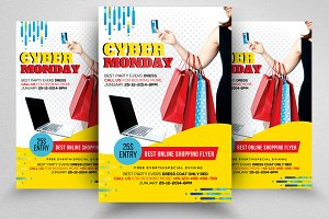 Cyber Monday Flyer Template Vol-03