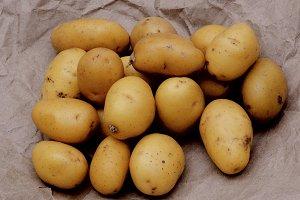 Yellow Finger Potatoes
