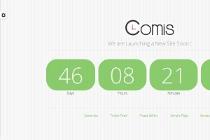 Comis Under Construction HTML Page