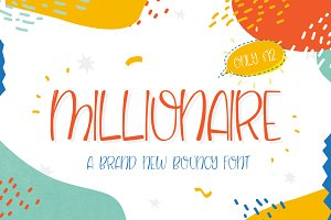 NEW! Millionaire Font (ONLY $12)