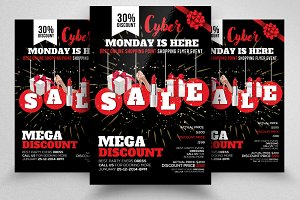 Cyber Monday Flyer Template Vol-06