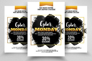 Cyber Monday Flyer Template Vol-09