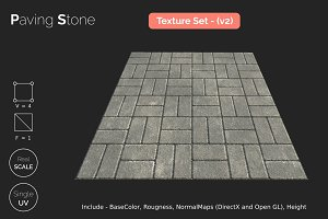 Paving Stone - small seamless textur