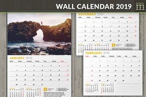 Wall Calendar 2019 (WC027-19)
