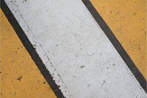Asphalt highway texture with cracked
