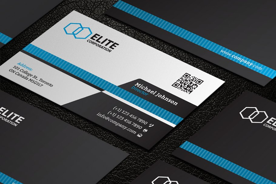 Business Card 21 in Business Card Templates - product preview 4