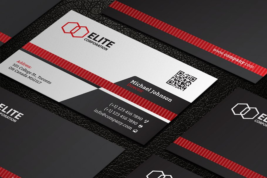 Business Card 21 in Business Card Templates - product preview 3