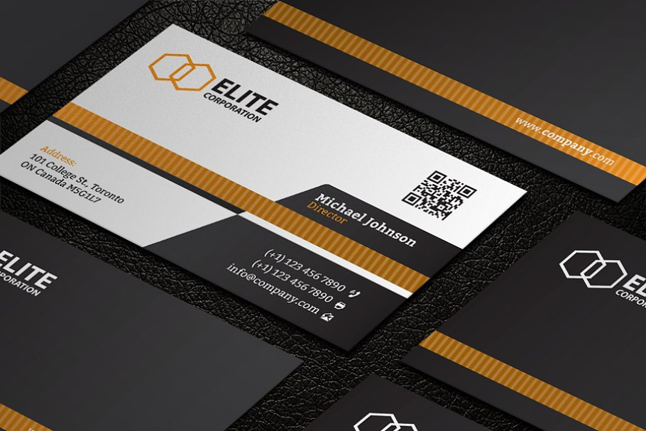 Business Card 21 in Business Card Templates - product preview 2