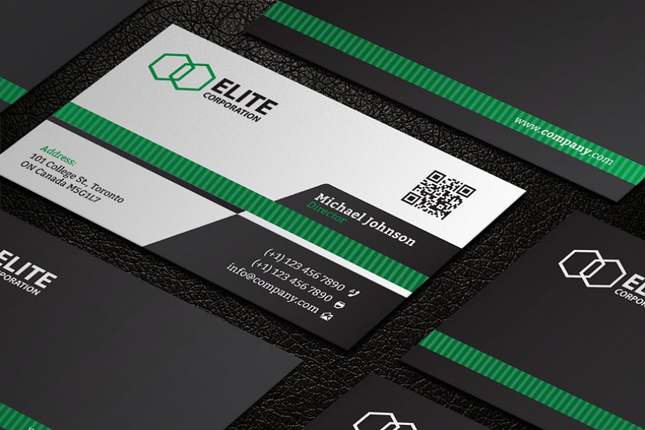 Business Card 21 in Business Card Templates - product preview 1
