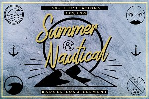Summer & Nautical Design Pack
