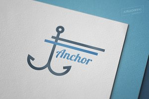 Anchor Harbor Logo Template