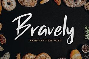Bravely - Handwritten Font